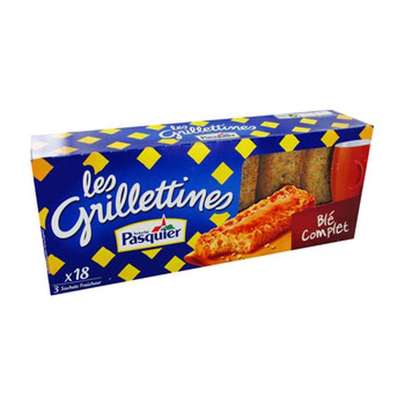 Grillettines au blé complet, Pasquier (x 18, 242 g)