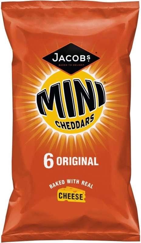 Mini cheddars, Jacob's (50 g)