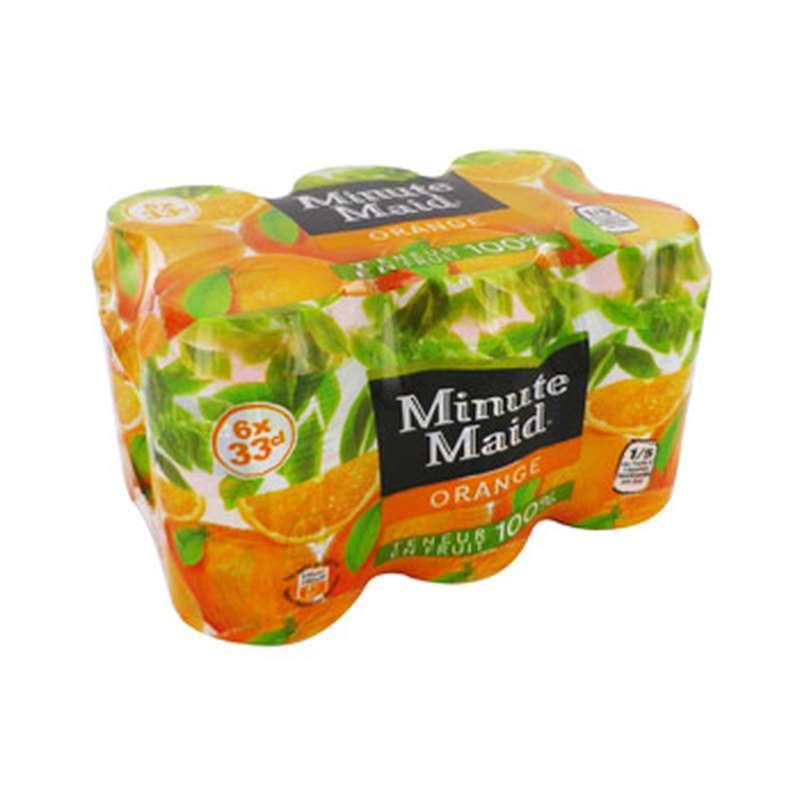 Pack de Minute Maid Orange (6 x 33 cl)