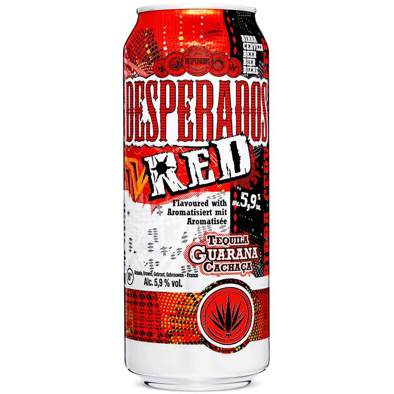 Desperados Red 5°9 en canette (50 cl)