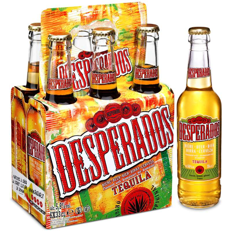 Pack de Desperados (6 x 33 cl)