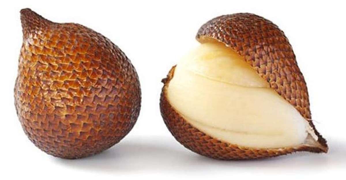 Salak ou fruit serpent (barquette de 200 g), Thaïlande