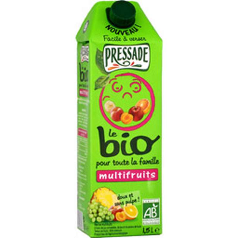 Nectar multifruits BIO, Pressade (1,5 L)
