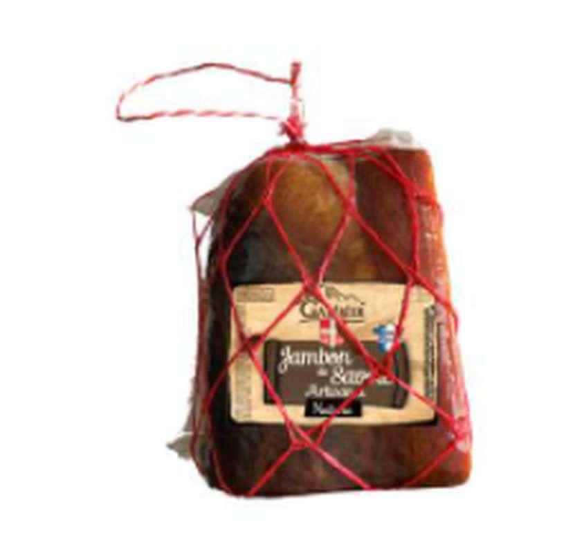 1/4 de jambon sec nature, Galibier (environ 900 - 1000 g)