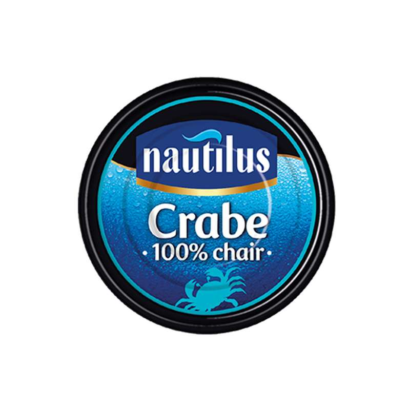 Chair de crabe 100%, Nautilus (105 g)
