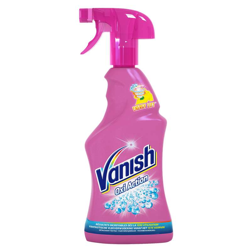 Pistolet détachant avant lavage Oxi action, Vanish (750 ml)