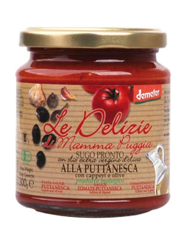 Sauce tomate Puttanesca BIO, Le Delizie di Mamma  (300 g)