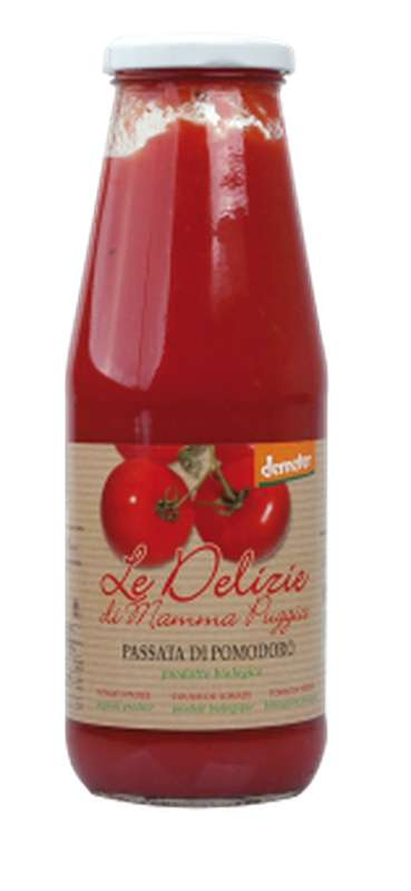Coulis de tomate BIO, Le Delizie di Mamma  (700 g)
