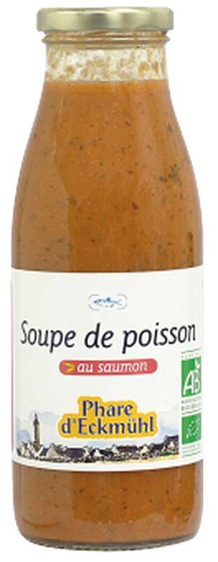 Soupe de poisson au saumon BIO, Phare d'Eckmuhl (500 g)