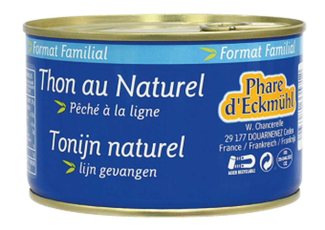 Thon Albacore au naturel, en boîte 1/2, Phare d'Eckmuhl (400 g)