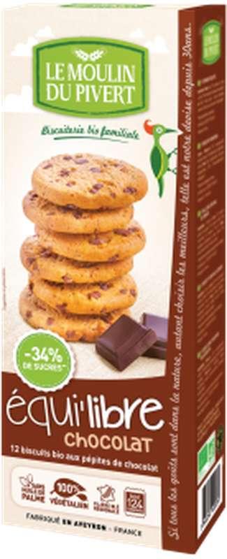 Equi'libre chocolat BIO, Le Moulin du Pivert (150 g)
