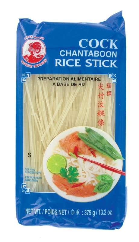 Pâte de riz small - 1 mm - (pho) Cock (375 g)