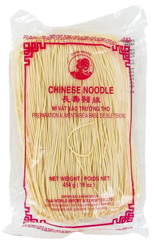 Nouilles chinoises blanches de blé tendre, Cock (454 g)