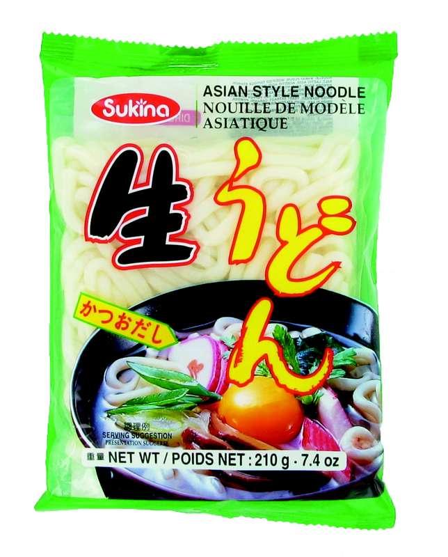Nouilles udon avec assaisonnement, Sukina (210 g)