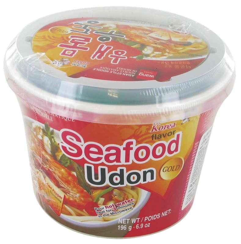 Udon saveur fruits de mer, Wang (196 g)