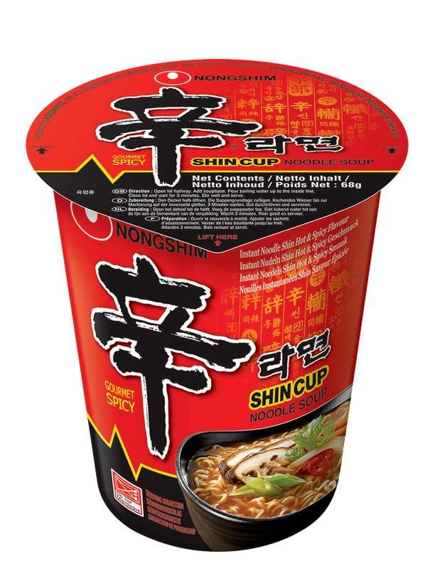 Nouilles saveur épicée, Nong shim (68 g)