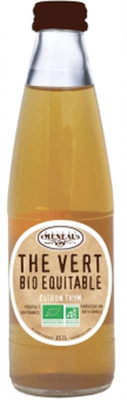 Thé vert citron thym glacé BIO, Maison Meneau (25 cl)