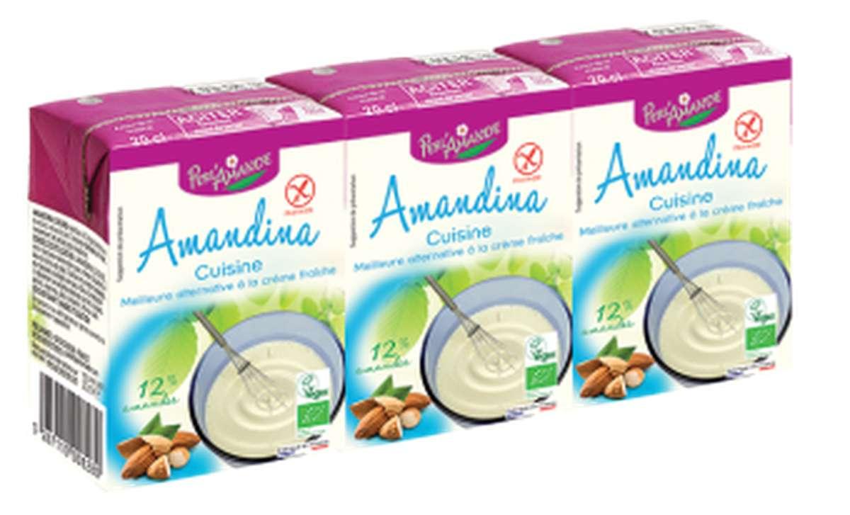 Amandina cuisine BIO, Perl'Amande (3 x 20 cl)