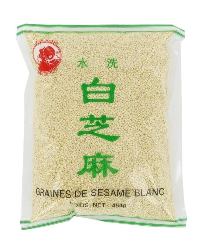 Graines de sésame blanc, Cock (454 g)