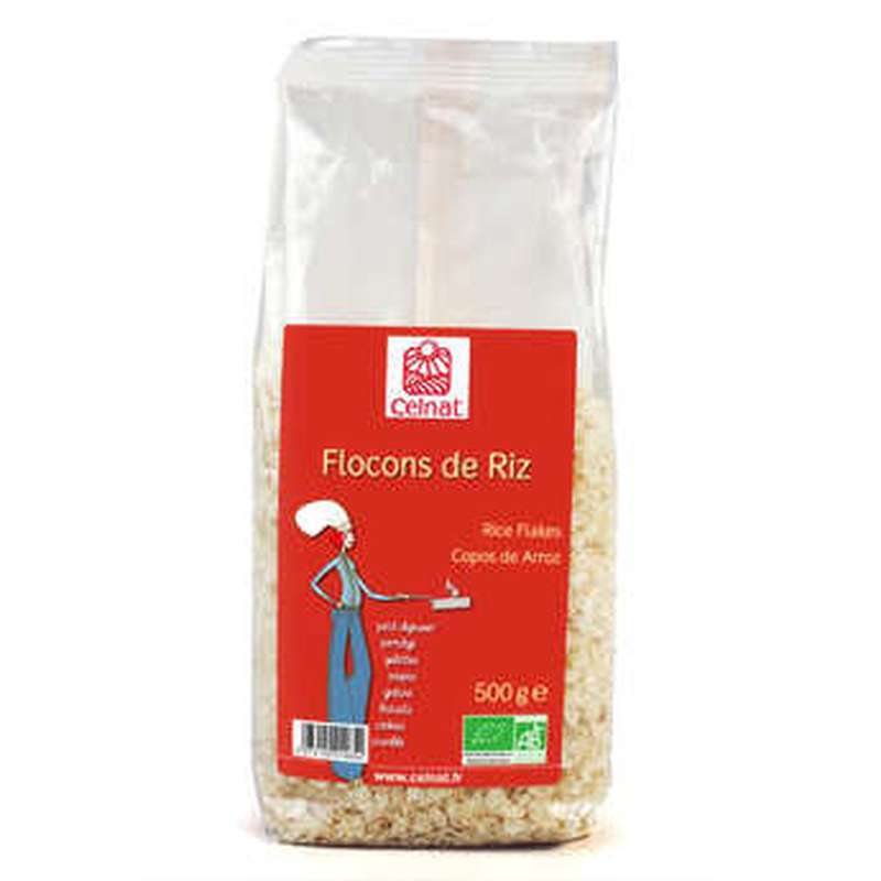 Flocons de riz It. BIO, Celnat (500 g)