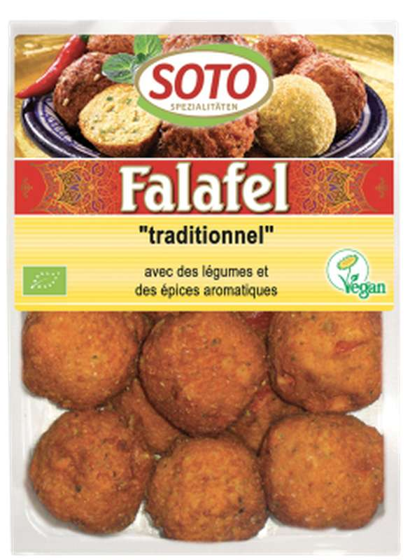 Falafel traditionnel BIO, Soto (x 12, 220 g)