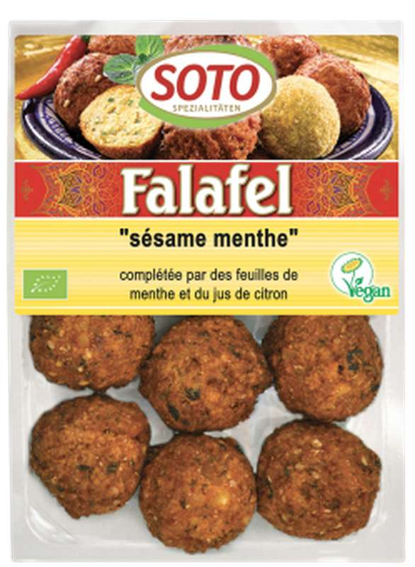 Falafel Sésame menthe BIO, Soto (x 12, 220 g)