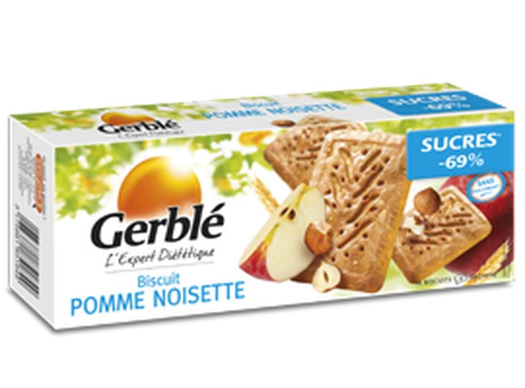 Biscuits à la pomme et aux noisettes, Gerblé (230 g)