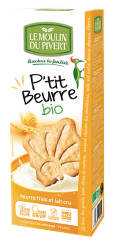 P'tit beurre BIO, Le Moulin du Pivert (155 g)