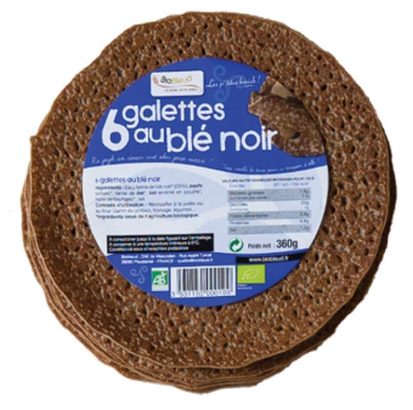 Petites galettes de blé noir les p'tites Breizh BIO, Biobleud (x 6, 360 g)