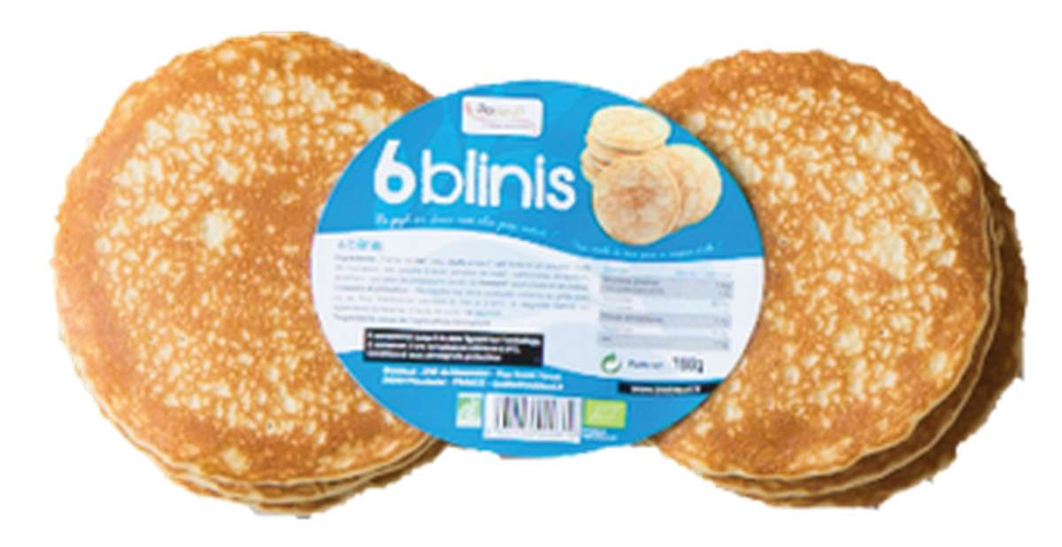 Blinis BIO, Biobleud (x 6, 180 g)