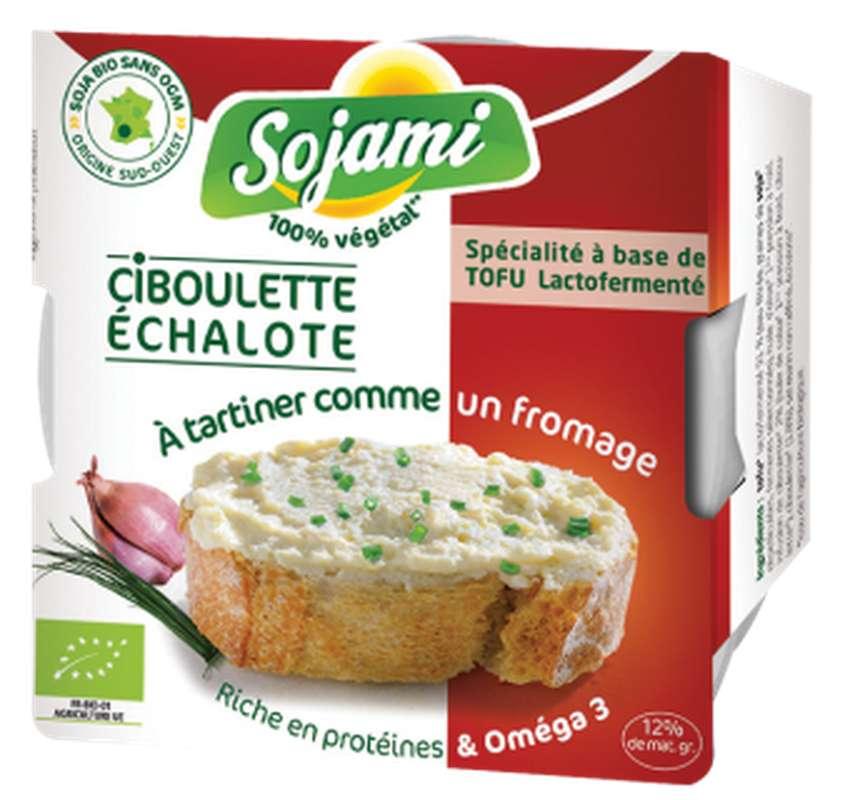Sojami à tartiner ciboulette échalote BIO, Le Sojami (125 g)