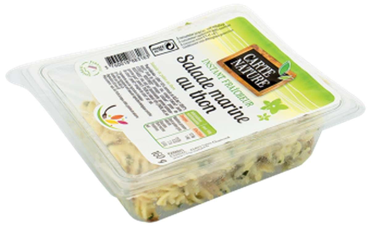 Salade marine au thon BIO, Carte Nature (160 g)