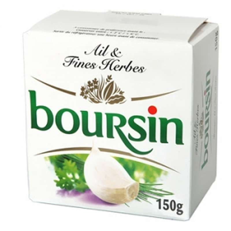 Boursin Ail & Fines Herbes (150 g)