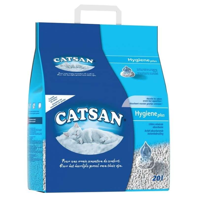 Litiere Hygiène Plus Catsan (10 L)