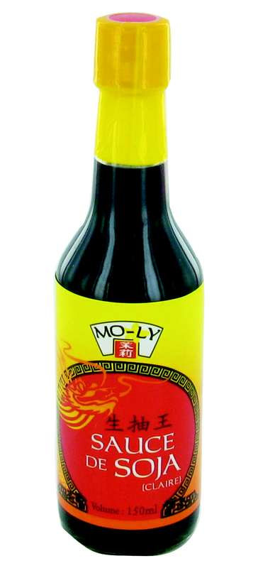 Sauce soja claire, Moly (15 cl)