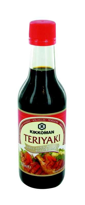Sauce teriyaki marinade et sauce, Kikkoman (25 cl)