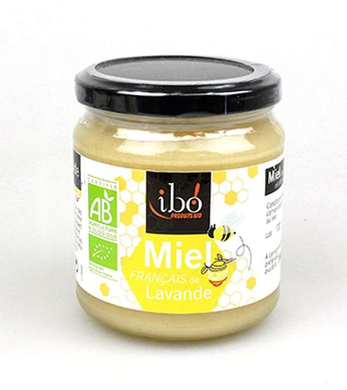 Miel de lavande BIO, Ibo (400 g)