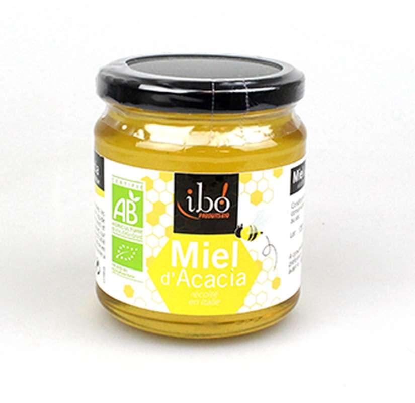 Miel d'acacia BIO, Ibo (400 g)