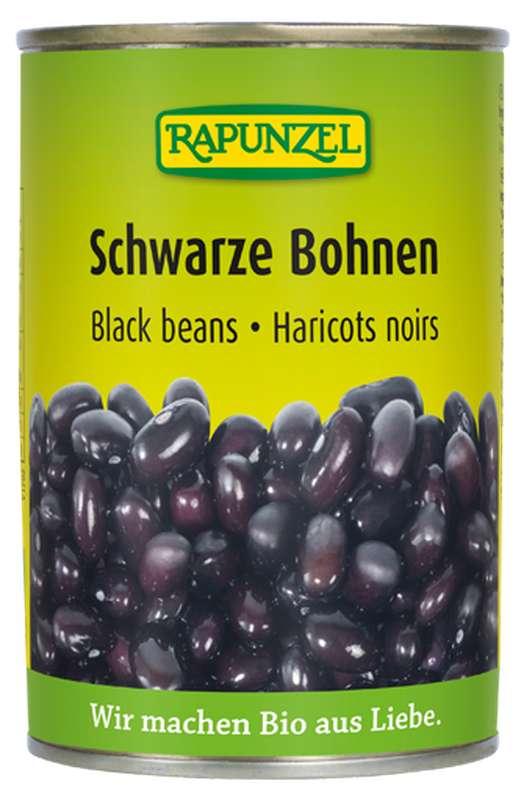 Haricots noirs BIO, Rapunzel (400 g)