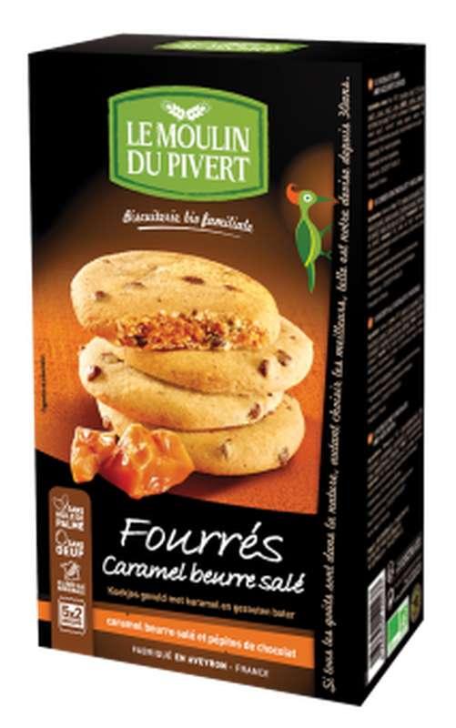 Fourrés caramel beurre salé BIO, Le Moulin du Pivert (175 g)