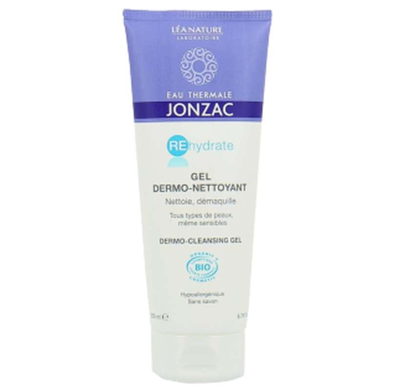 Gel nettoyant dermo-fraicheur REhydrate BIO, Eau thermale Jonzac (200 ml)