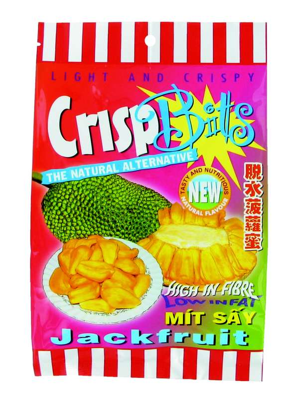 Chips du fruit de jacquier, Crisp Bitts (100 g)