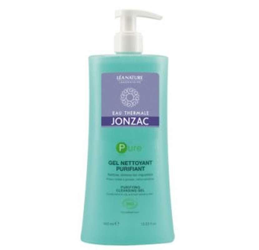 Gel nettoyant purifiant PURE BIO, Eau thermale de Jonzac (400 ml)