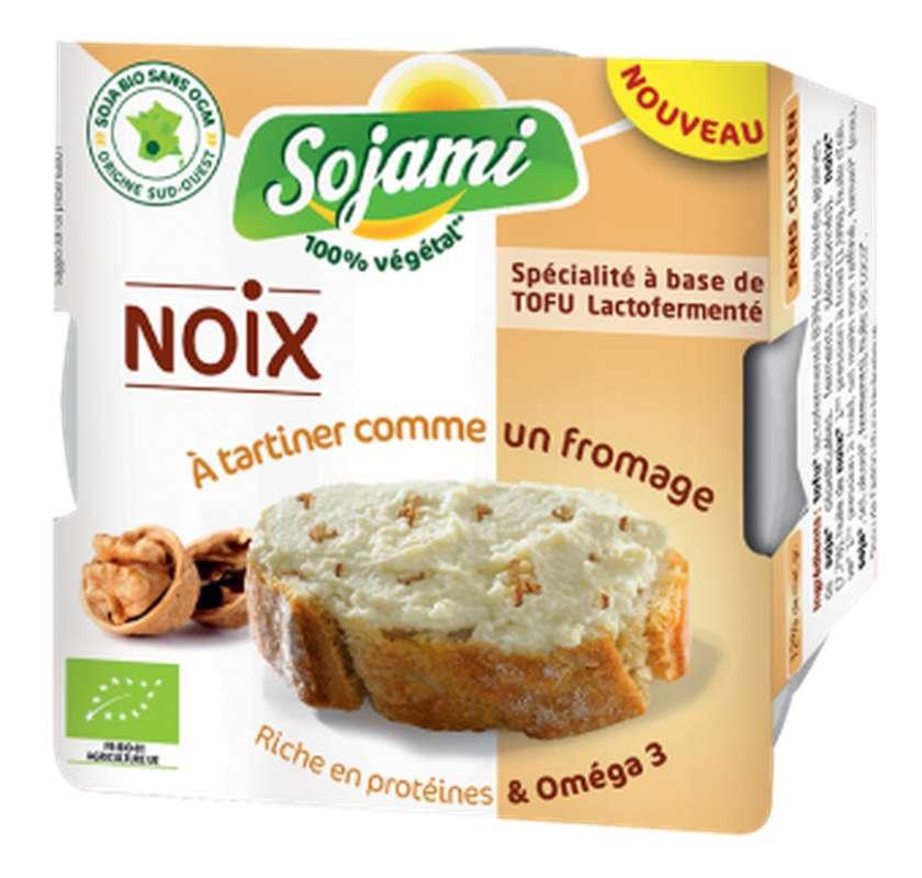 Sojami à tartiner noix BIO, Le Sojami (125 g)