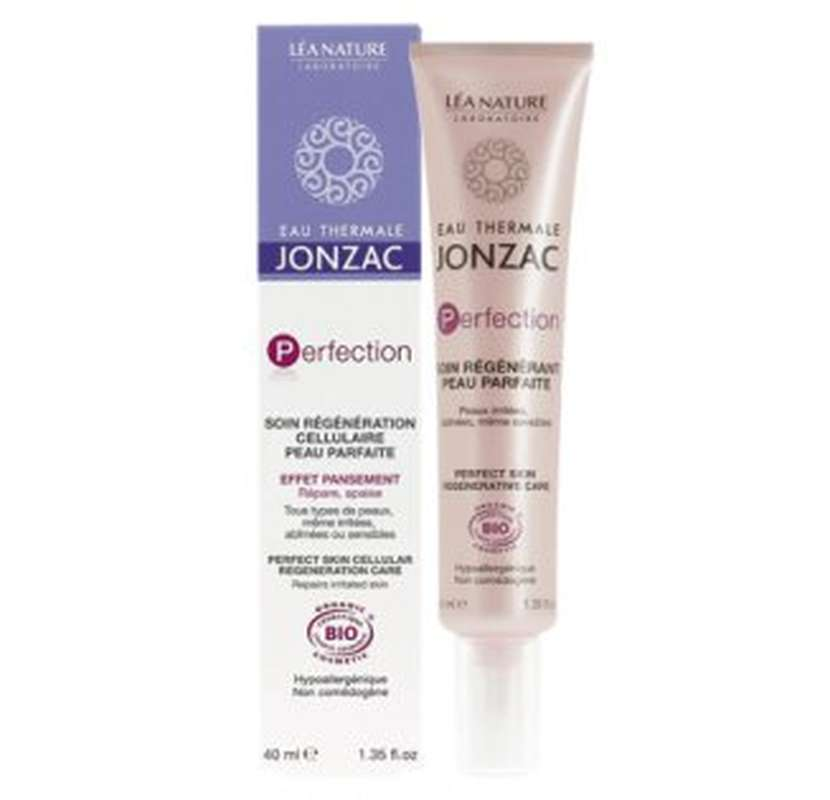 Soin régénération cellulaire peau parfaite PERFECTION BIO, Eaux thermale Jonzac (40 ml)