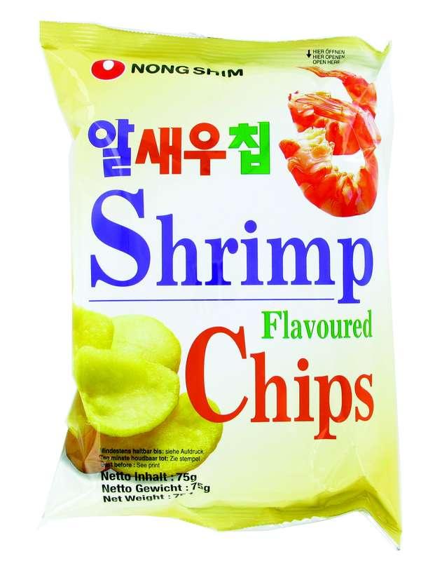 Chips à la crevette, Nongshim (75 g)