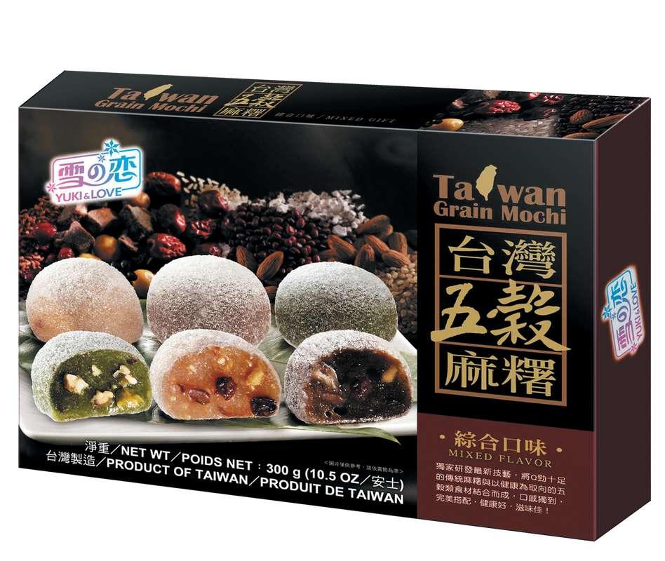 Mochi assortiment aux 5 céréales, Yuki&Love (300 g)