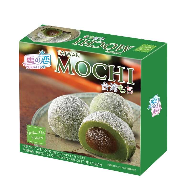 Mochi au thé vert, Yuki&Love (140 g)