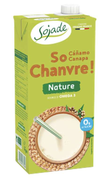 Boisson So Chanvre au chanvre nature BIO, Sojade (1 L)