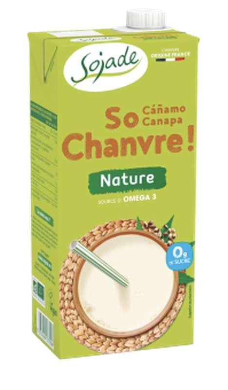 Boisson So Chanvre au chanvre nature BIO, Sojade (1 L)